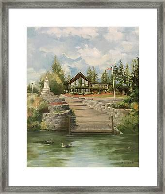 Rita's House Framed Print