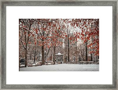 Rittenhouse Snowscape Framed Print