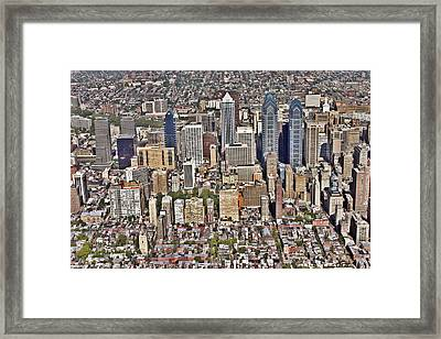 Rittenhouse Square Area Philadelphia Framed Print