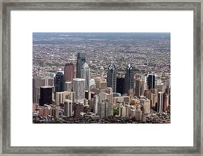 Rittenhouse Square Philadelphia Framed Print