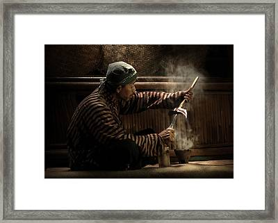 Ritual Framed Print by Andre Arment