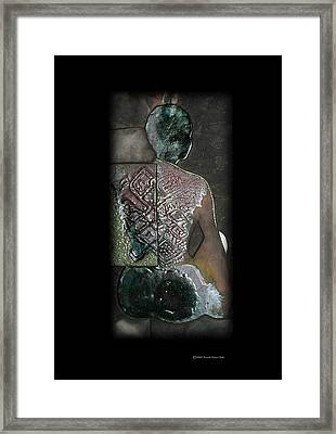 Ritual Transformation Framed Print