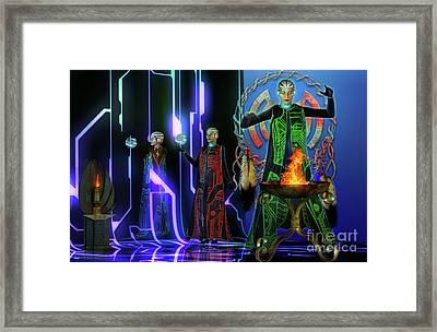 Rituals    . Framed Print by Shadowlea Is