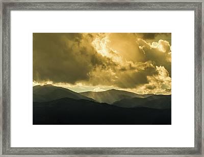 Ruidoso Rays Framed Print