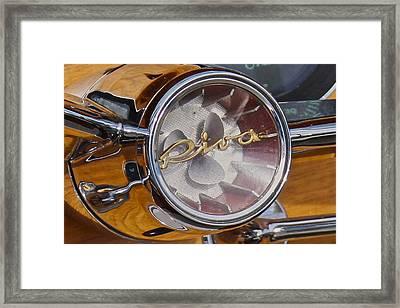 Riva Steering Hub Framed Print