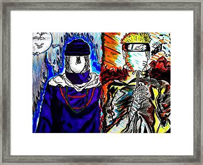 Rivals Framed Print