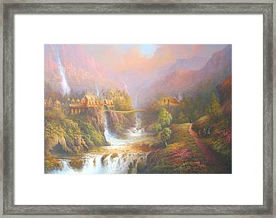 Rivendell Framed Print by Joe Gilronan