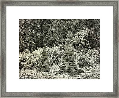River Art Framed Print by JAMART Photography
