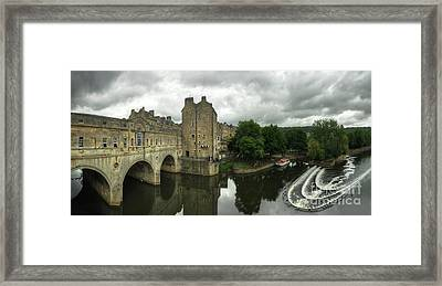 River Avon Pulteney Bridge  Framed Print