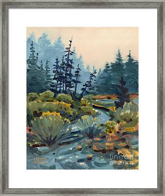 River Bend Framed Print by Donald Maier