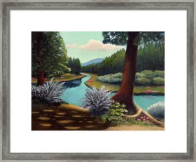 River Bend Framed Print by Gordon Beck