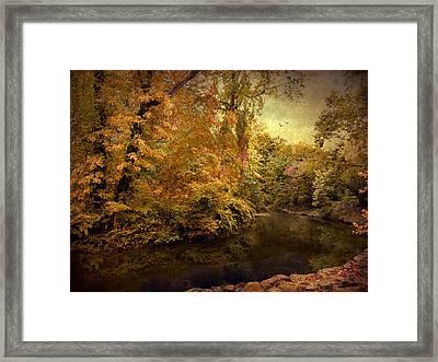 River Bend Framed Print by Jessica Jenney