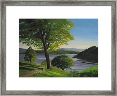 River Bend Framed Print by Robert Rohrich