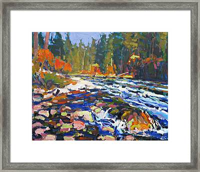 River Framed Print by Brian Simons