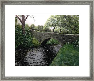 River Bridge Framed Print