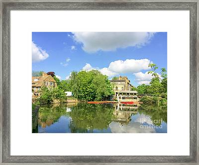 River Cam Framed Print by Delphimages Photo Creations