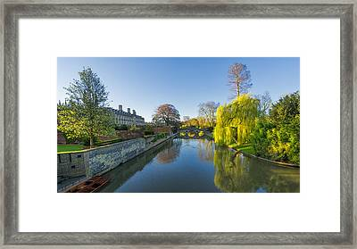 River Cam Framed Print