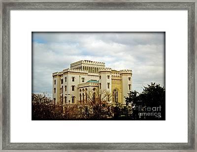 River Castle Framed Print by Scott Pellegrin