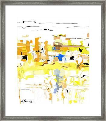 River City Framed Print