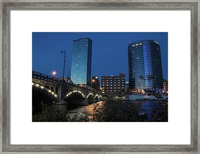 River City Framed Print by Douglas Gale