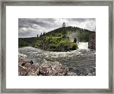 River Course Framed Print by Leland D Howard