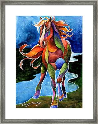 River Dance 1 Framed Print