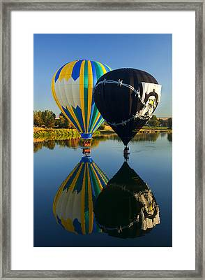 River Dance Framed Print by Mike  Dawson