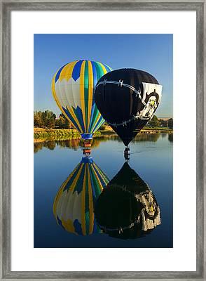 River Dance Framed Print by Mike  Dawson