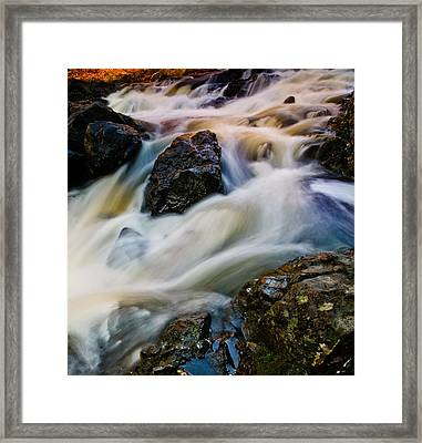 River Dance Framed Print