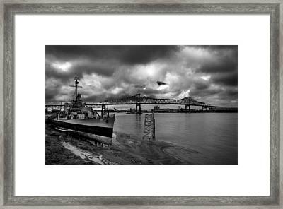 River Framed Print by David Keith