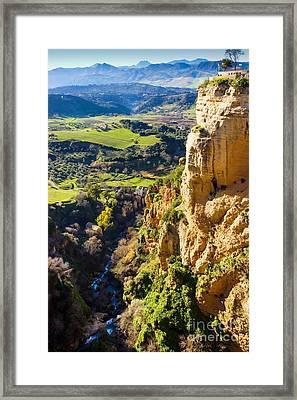 River Deep Mountain High Framed Print by Lutz Baar