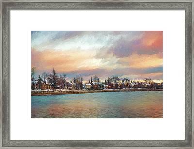 River Dream Framed Print