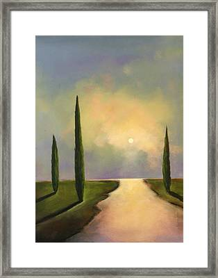 River Dreams Framed Print by Toni Grote