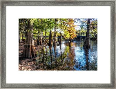 River Eeriness Framed Print