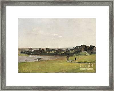 River Elbe Framed Print