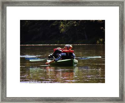 River Float Framed Print by JAMART Photography