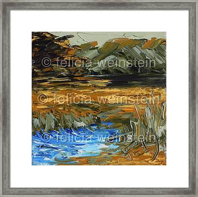 River Flow 1 Framed Print