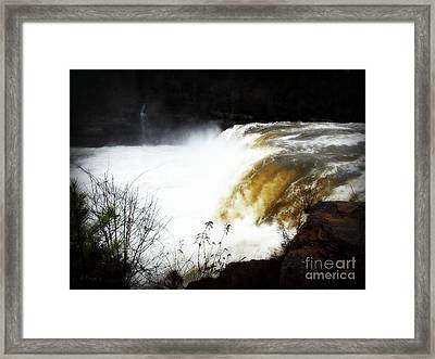 River Ghosts Framed Print by Anita Faye