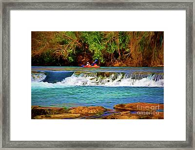 River Good Times 121217-1 Framed Print
