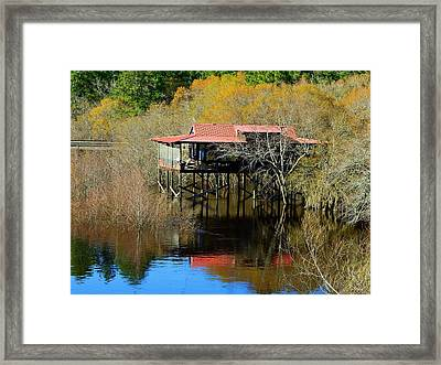 River House Framed Print by Laura Ragland