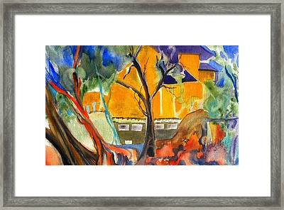 River House Framed Print by Patricia Bigelow