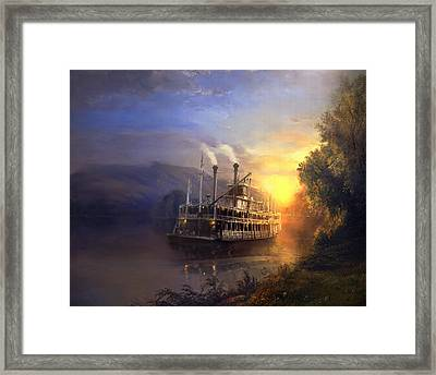 River King Framed Print