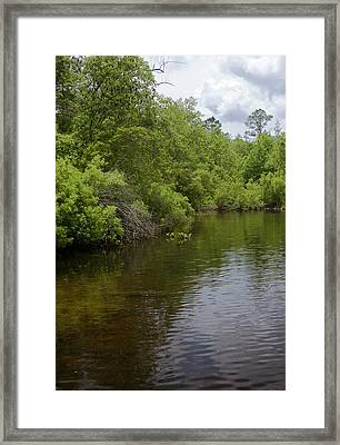 River Landscape Framed Print