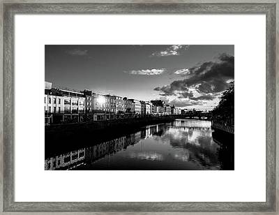 River Liffey Framed Print