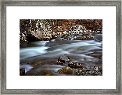 River Magic Framed Print