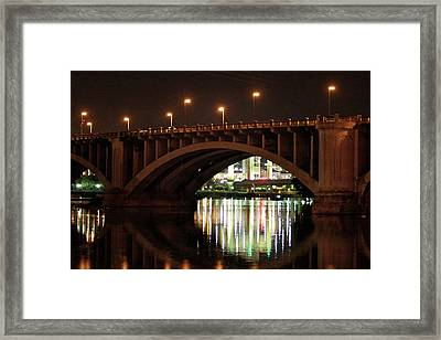 Framed Print featuring the photograph River Nights by Kate Purdy