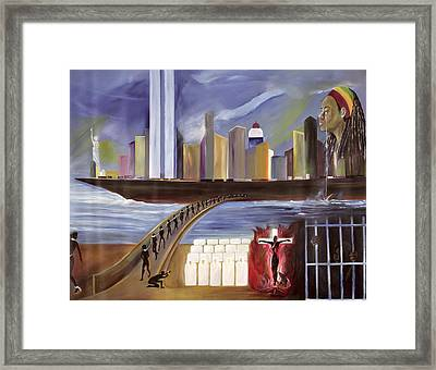 River Of Babylon  Framed Print by Ikahl Beckford
