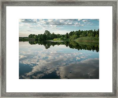 River Of Dreams II. Sedniv, 2015. Framed Print