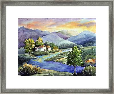 River Of Dreams Framed Print by Sandy Fisher