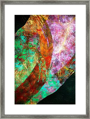 River Of Love Framed Print by Sue Reed